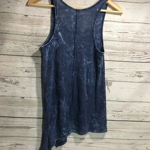 Free People Tops - We the Free People denim acid washed tank top